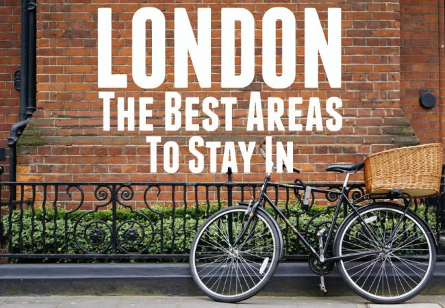 popular areas to stay in london