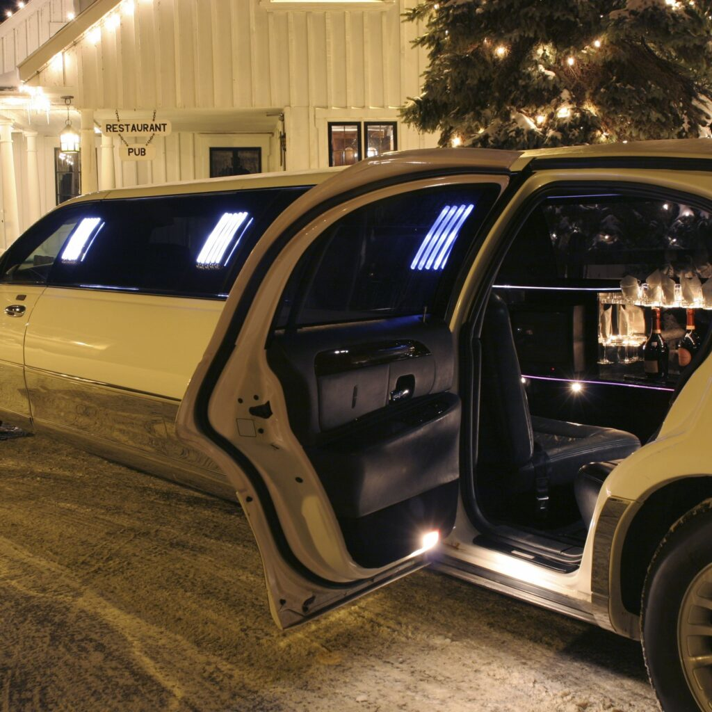 driving a limo