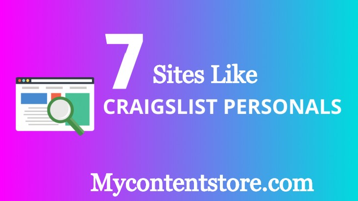 Sites Like craigslist Personal