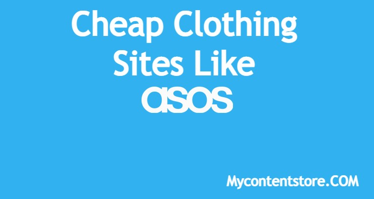 Sites Like Asos